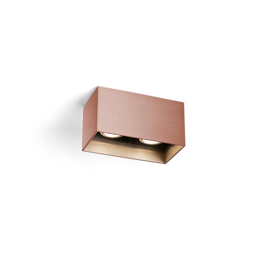 Box 2.0 LED Wandleuchte - bronze