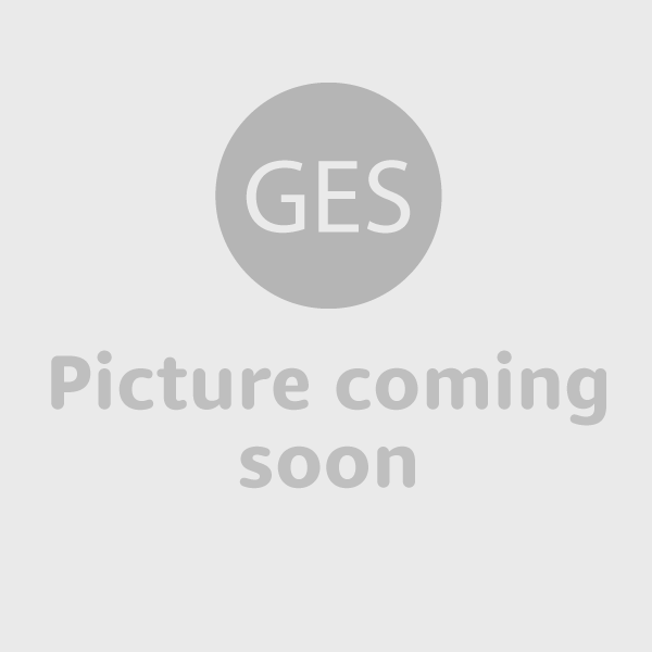 Taccia table lamp plastic shade - example of use