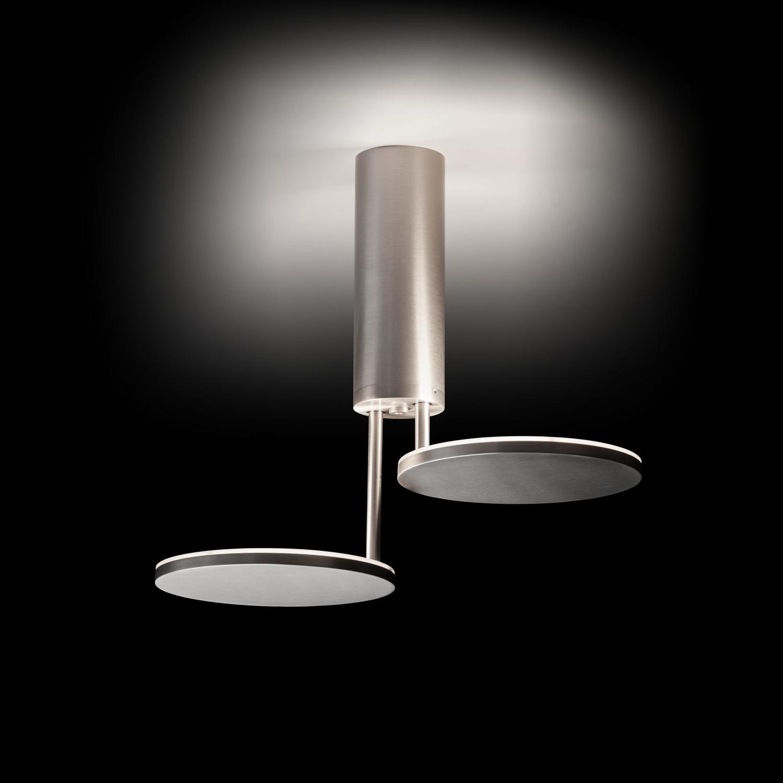 9902 LED-Deckenleuchte, alu-poliert, Holtkötter