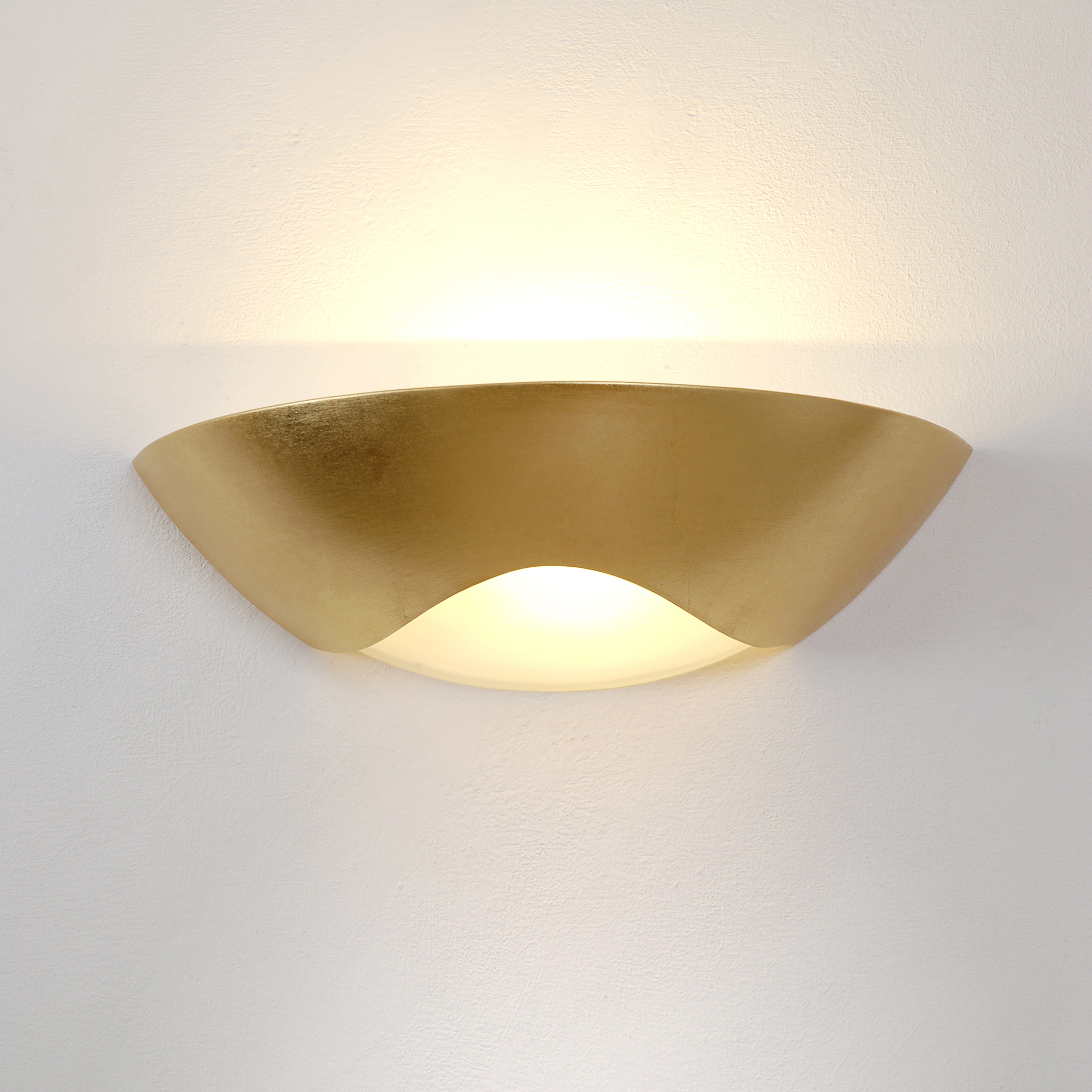 Holländer, Matteo Curve Wandleuchte, gold