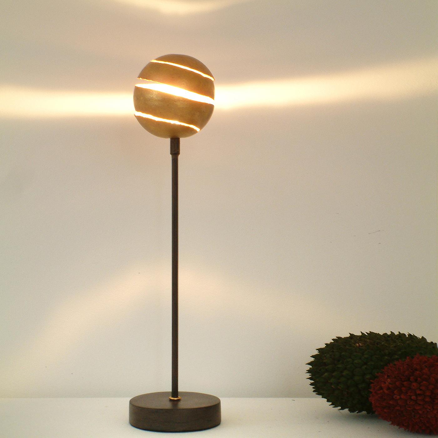 Table Lamp Kugelblitz Gold