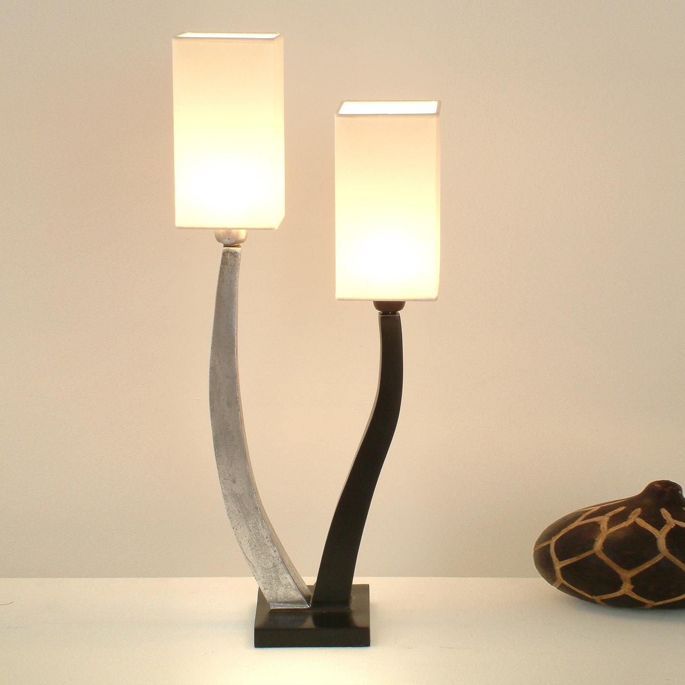 Quadrangolare Table Lamp 2-Light